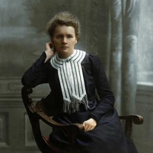 Marie Curie colour